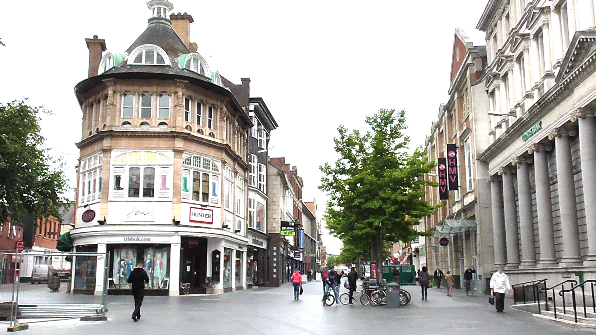 Leicester City Centre, commercial properties